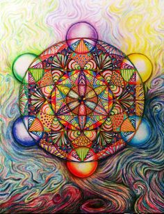 #metatron's cube #star tetrahedron #sacred geometry