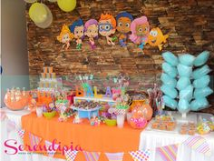 Bubble Guppies Birthday Cake, Bubble Guppies Party, Bubble Party, Frozen Birthday Party, 3rd Birthday Parties, Birthday Party Favors, Birthday Ideas, Second Birthday Boys, Splash Party