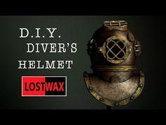 How To Make A Foam Deep Sea Diver's Helmet. DIY Halloween Costume - YouTube