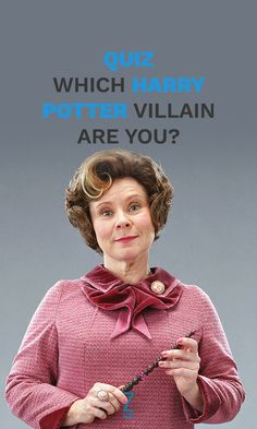Which Villain are You!?