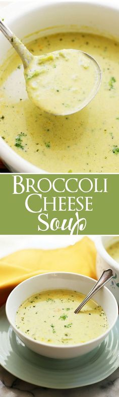 Broccoli Cheese Soup (Panera Copycat) If you love Panera Breads Broccoli Cheese Soup you are going to be amazed with this copycat recipe! Copycat Recipes, Soup Recipes, Vegetarian Recipes, Cooking Recipes, Healthy Recipes, Best Broccoli Cheese Soup, Frozen Broccoli, Broccoli Casserole, Broccoli Cheddar