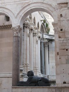 Diocletian's Palace, Split,Croatia
