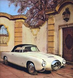 Pininfarina Lancia Aurelia PF200 Convertible 1953