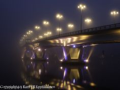 Kuokkalan silta, Jyväskylä, Finland Bridge, Travel, Viajes, Bridges, Destinations, Traveling, Trips, Attic, Bro