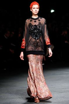 Tendencias para Halloween 2013 - Look FW13 de Givenchy