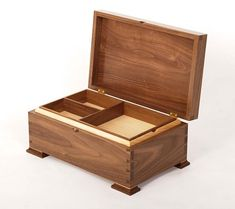 Another example of the amazing work coming from #students here at Rowden. @thomas_emmettfinefurniture Tom Emmett has created this Jewellery #box from Black #Walnut and #maple A great show to how the students take this task and can make it their own whilst still including all the techniques to create accurate pieces. #finefurniture #wood #cabinetmaking #handcrafted #furniture #craft #creative #woodwork