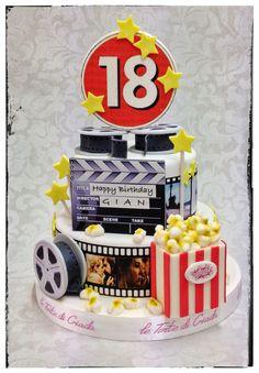 audrey hepburn film strip cake cake ideas in 2019 cake