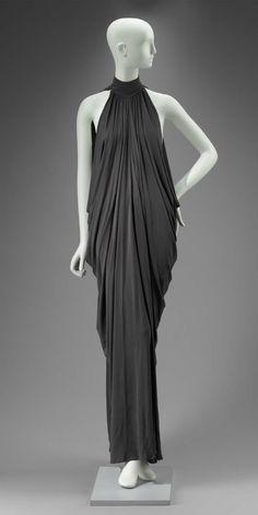 1975, England - Dress by Gnyuki Torimaru - Synthetic knit (jersey)