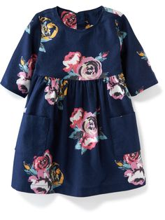 Shop Old Navy's collection of dresses and jumpsuits for your baby girl. Old Navy is your one-stop shop for stylish and comfortable baby clothes at affordable prices. Baby Outfits, Little Girl Outfits, Little Girl Fashion, Little Girl Dresses, Toddler Outfits, Kids Outfits, Girls Dresses, Fitted Dresses, Baby Dresses