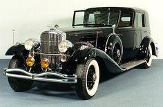 1936 DUESENBERG J ROLLSTON TOWN CAR