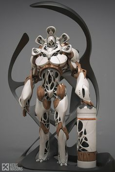 Defender by CedricSeaut | Robotic/Cyborg | 3D | CGSociety