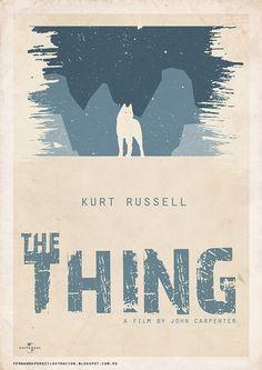 The Thing #JohnCarpenter #KurtRussell #TheThing