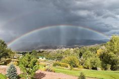 Green grass, gorgeous sunrises and sunsets, a chance to be indoors without guilt, fog-filled vistas, and rainbows...so many blessings come with the precipitation of our monsoon season in Utah.  Randomocity: The Blessings of Rain