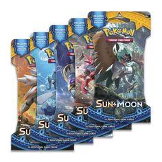 Pokémon TCG: Sun & Moon Boosters
