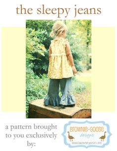 BG Original The Sleepy Jeans pdf pattern by browniegoose on Etsy, $9.00