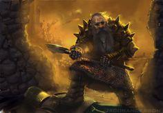 Dwarven Battlesmith by JackalsCutlass.deviantart.com