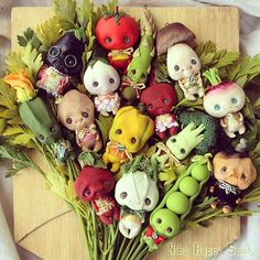 Veg Collection by Nobu Happy Spooky