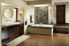 Newport Brass offers flawless beauty, from faucet to finish with quality bath fixtures Brass Bathroom, Bathroom Wall Decor, Modern Bathroom, Bathroom Ideas, Newport Brass, Master Bedroom Interior, Cabinet And Drawer Pulls, Wall Mount Faucet, Modern Kitchen Cabinets