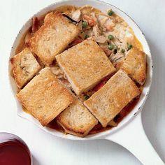 One-Pan Recipe: Skillet Chicken-and-Mushroom Potpie   Shine Food - Yahoo! Shine