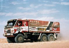 Tatra 815 rally Dakar 1986 Rallye Paris Dakar, Rally Raid, Trophy Truck, 4x4 Off Road, Road Racing, Big Trucks, Motor Car, Custom Cars, Cars And Motorcycles