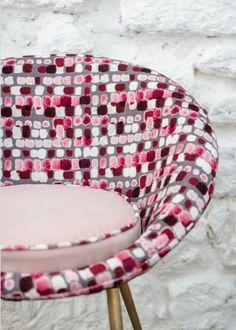 Paris Déco Off, nouveautés Textiles 2016 : Tissu Maquillage - Dominique Kieffer - Marie Claire Maison