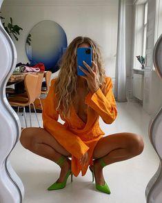 Spring Fashion Trends, Spring Summer Fashion, Mode Outfits, Fashion Outfits, Womens Fashion, Mode Pop, Zara, Denim Trends, Dress And Heels