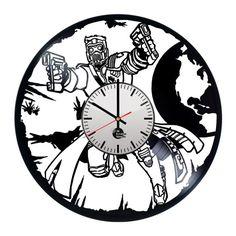 Guardian of galaxy Handmade Vinyl Record Wall Clock Fan Gift - VINYL CLOCKS