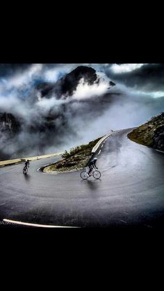 Mountain passes and switchback are the things of dreams. The epic cycling image…