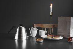 Vattenkanna Buono Drip Kettle i rostfritt stål Kettle, Candles, Water, Gripe Water, Teapot, Boiler, Pillar Candles, Lights, Aqua