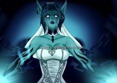 [League Of Legend] Morgana Ghost Bride by Erina-yuifairy