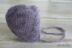 Newborn Knit Bonnet