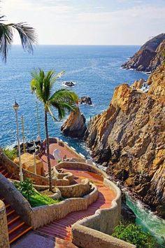 Seaside, Acapulco, Mexico