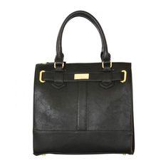 Henley Black Ingrid Square Tote Bag Discount Designer Handbags, Hermes Kelly, Handbag Accessories, Tote Bag, Black, Fashion, Moda, Black People, La Mode