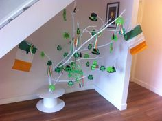 St. Patricks Day Tree Decorations Ireland DIY