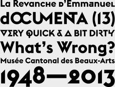 Font, Grotesque, Odd, Euclid, by Emmanuel Rey via @swisstypefaces