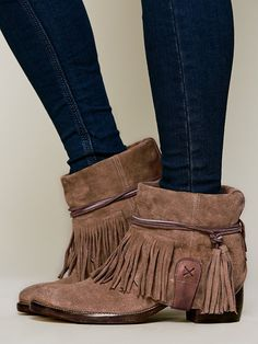 Free People Lonesome Fringe Ankle Boot http://www.freepeople.co.uk/whats-new/lonesome-fringe-ankle-boot/
