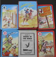 Riders Of The Range Card Game