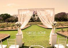Garden Weddings - Circle of Love Weddings - Melbourne garden weddings - Wedding decor - wedding stylist