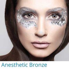Anesthesia Anesthetic Bronze   2 contact lenses   USA, UAE, UK, Europe