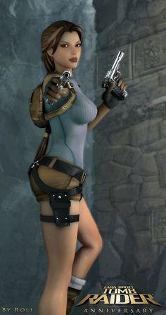 Tomb Raider Anniversary by Roli29