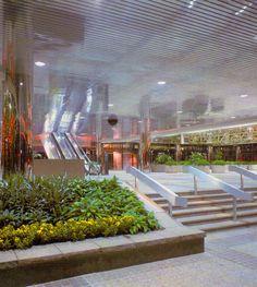 More Empty Shopping Malls, 1985 Retro Interior Design, Retro Design, Interior Paint, Dead Malls, Shopping Malls, Retro Futuristic, Retro Home Decor, At Home Store, Looks Cool