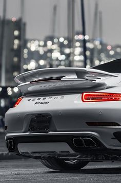 The Porsche 911 is a truly a race car you can drive on the street. It's distinctive Porsche styling is backed up by incredible race car performance. Porsche 911 Turbo, Porsche Tuning, 911 Turbo S, Porsche Cars, Porsche 991, Ferrari, Maserati, Bugatti, Lamborghini
