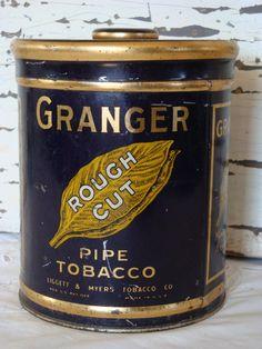 Pipe tobacco tins