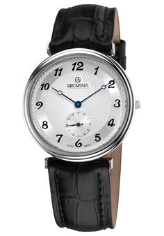 Price:$236.71 #watches Grovana 1276.1532, Grovana is a firm that has made a name for itself in the Swiss watch making industry through innovation and flexibility. Up to the 1970s it made mechanical watches that were always state of the art. Fine Watches, Watches For Men, Swiss Watch, Watch 2, Mechanical Watch, State Art, Flexibility, 1970s, Innovation