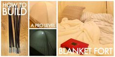 I Built A Goddamn Professional-grade Blanket Fort And You Can Too