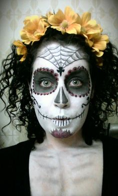 i adddooore facepaint - Skull Face Painting Ideas For Halloween
