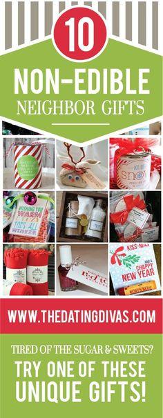 10 Non-Edible Christmas Neighbor Gifts