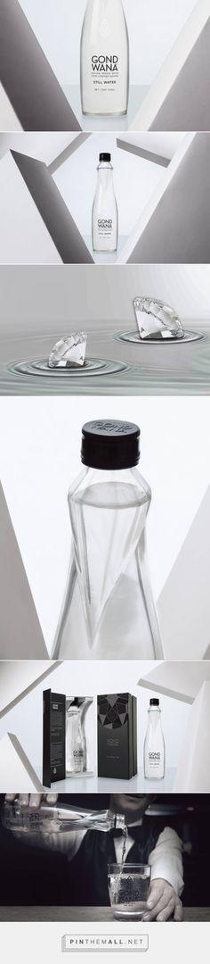 Gond Wana premium water packaging design by Tridimage 3d branding - http://www.packagingoftheworld.com/2017/11/gond-wana.html