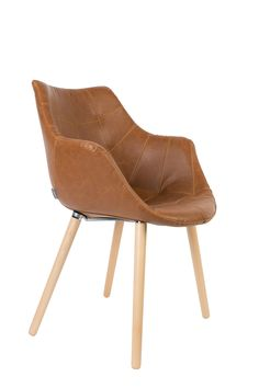 Twelve armchair Vintage Brown
