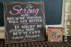 Inspirational quote for Cancer survivors <3 For this and more please visit my FB page : www.fb.com/sweetboyzmarketplace